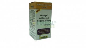 Omega 3 & Omega 6 Vegetal-cps. 900 mg